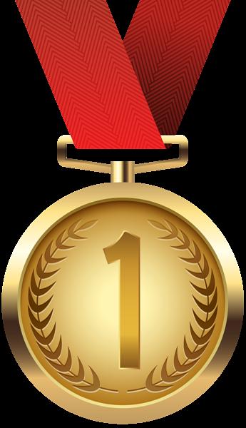 Gold Medal PNG Clip Art - Medal HD PNG