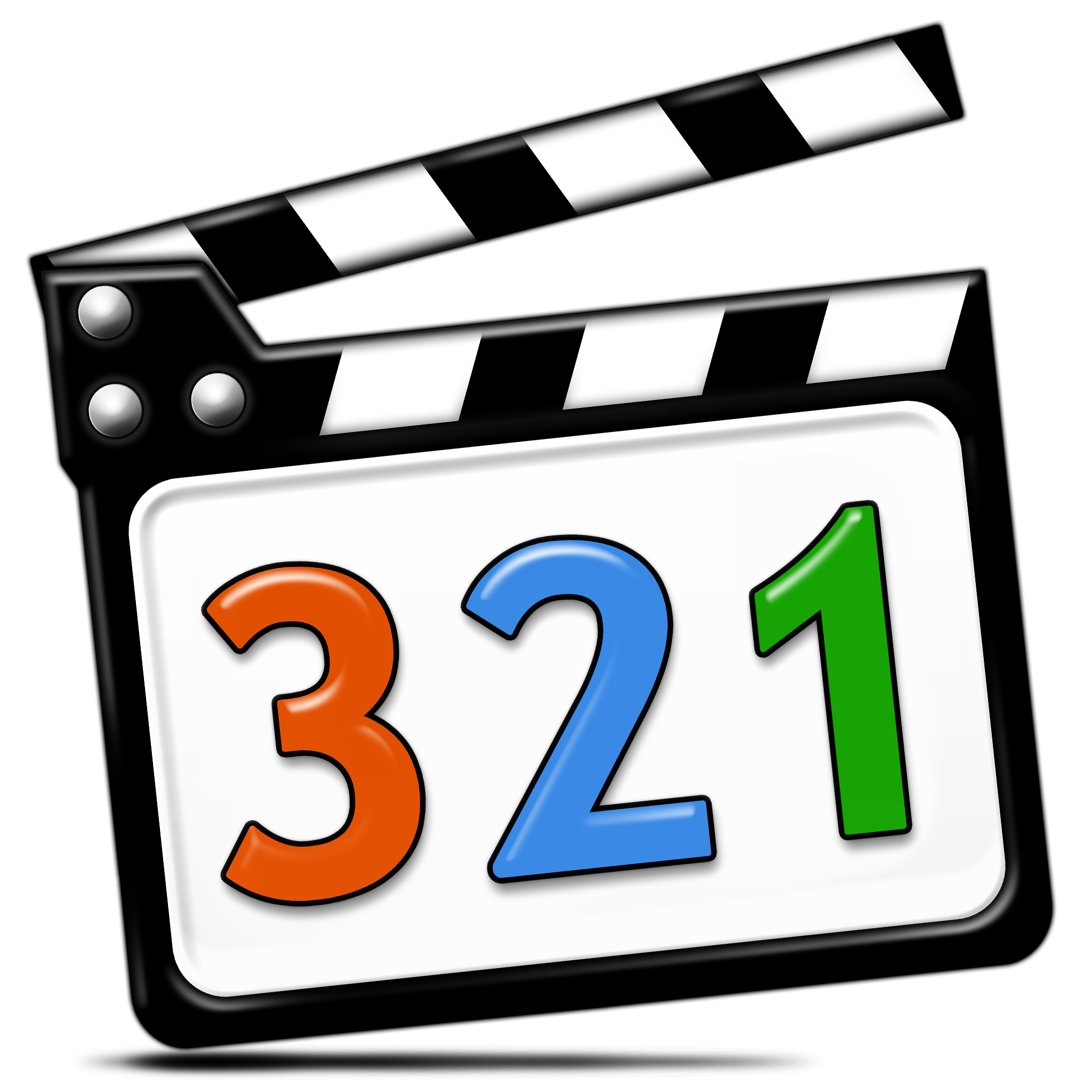 File:Media Player Classic MPC With Shadow With Numbers.png - Media Player PNG