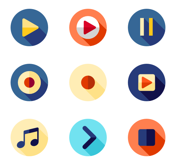 Media icons - Media Player PNG