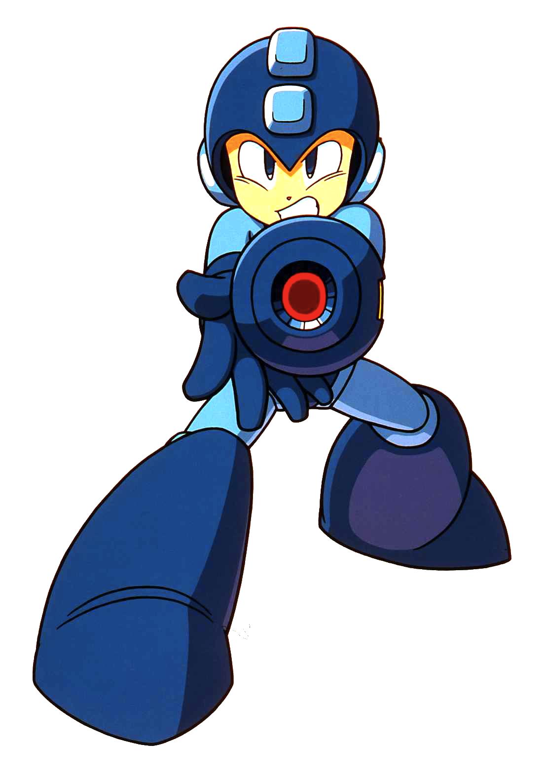 Mega Man (Rockman Complete Works).png - Megaman PNG