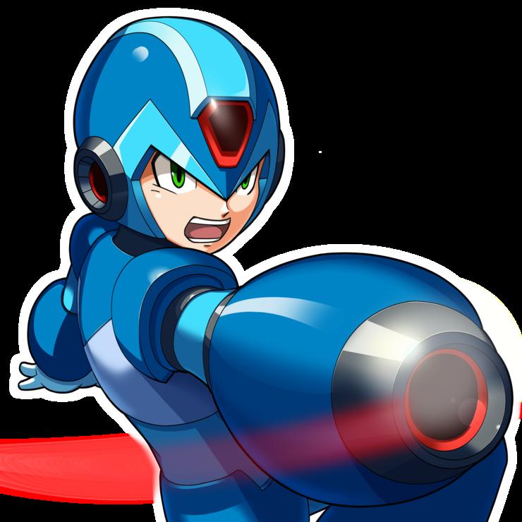 MegamanX.png - Megaman PNG