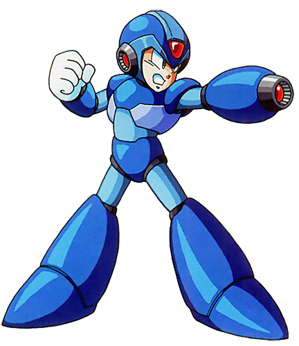 No Caption Provided PlusPng.com  - Megaman PNG