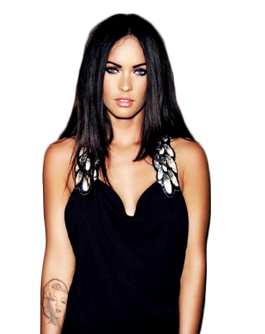 png Megan Fox by SabinaVunson PlusPng.com  - Megan Fox PNG