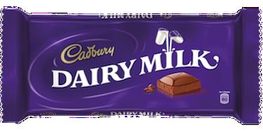 Cadbury Dairy Milk Bar - Melting Chocolate Bar PNG