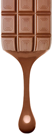 Melting Chocolate Bar PNG - 46324