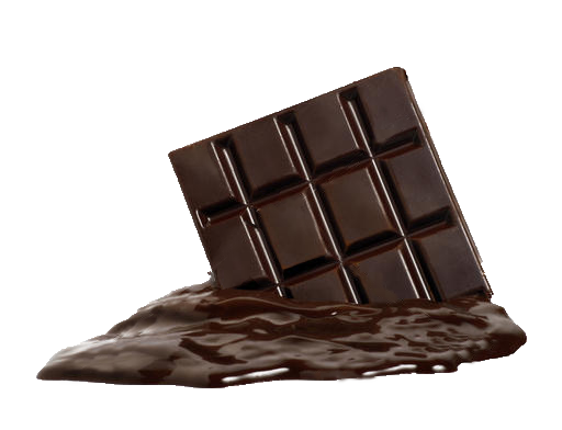 Melted Chocolate Transparent Background - Melting Chocolate Bar PNG