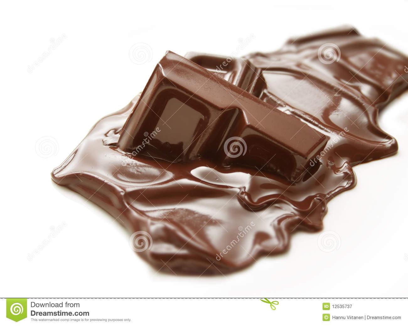 Melting Chocolate Bar PNG - 46322