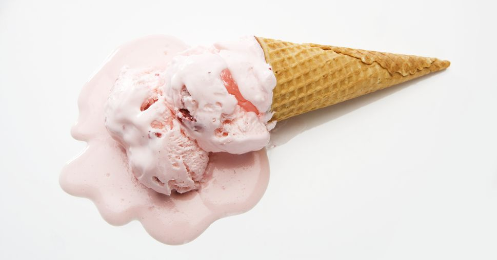 Melting Ice Cream PNG
