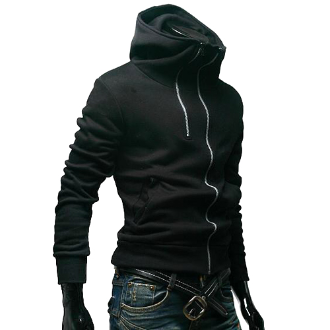 Korean Style Menu0027s Double Zipper Design Jacket now $39.95 only (reg 62.95).  Limited - Men Clothes PNG
