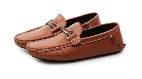 Mens Leisure Loafer Driving Shoes - Men Shoes PNG