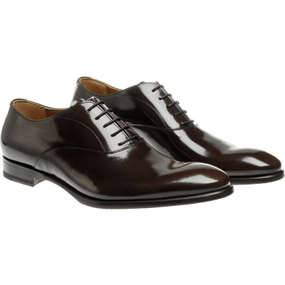 Pair Of Polished Leather Men Shoes - Men Shoes PNG