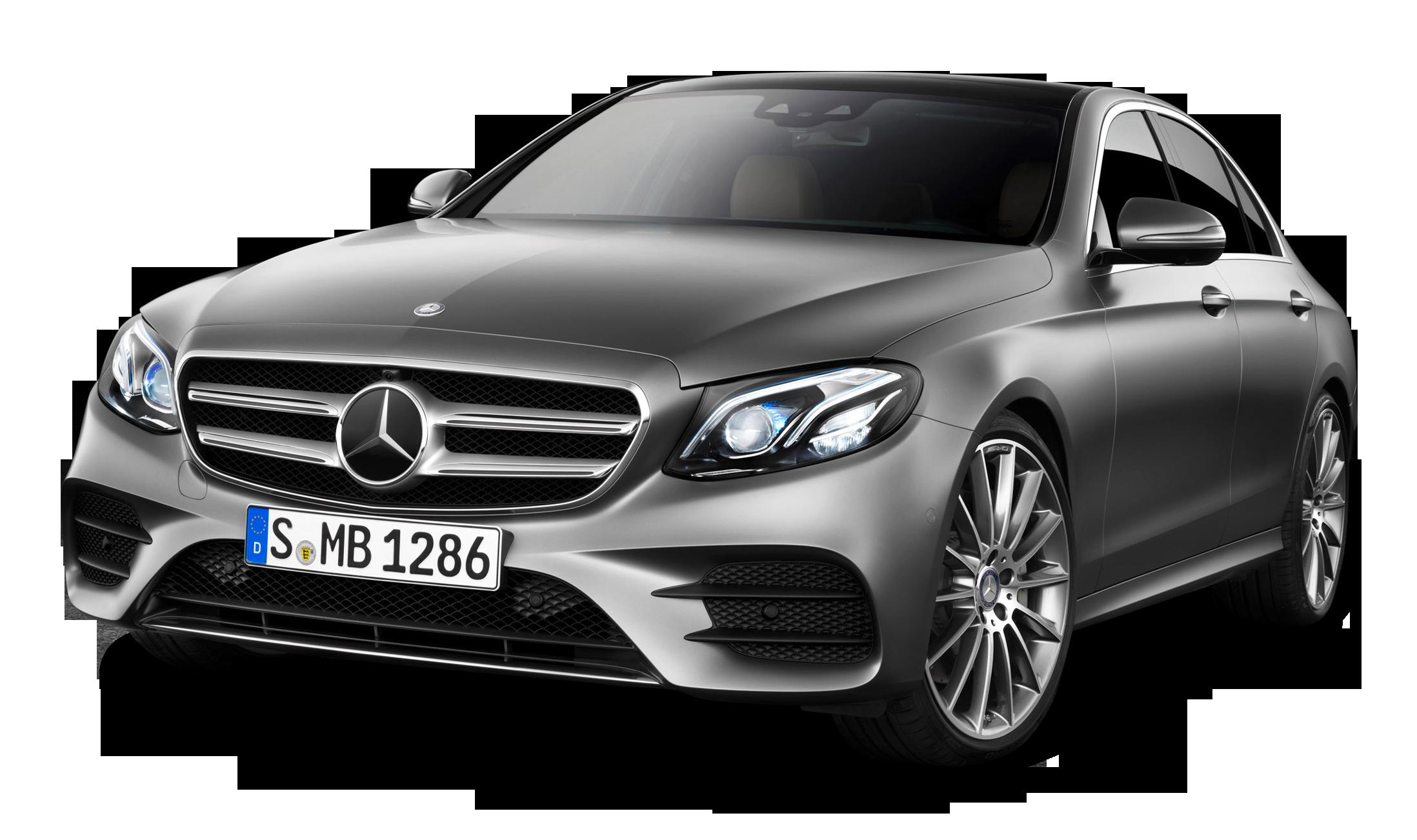 Grey Mercedes Benz E class Car PNG Image - Mercedes PNG