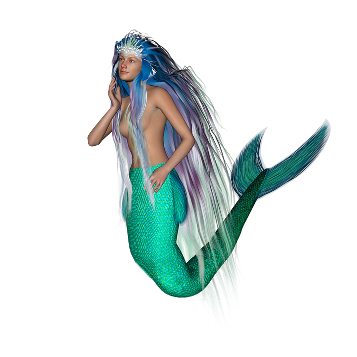 Mermaid, Mermaid Tail, Mythical Creatures, Fairy Tales - Mermaid PNG