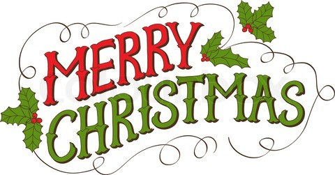 Merry Christmas Text PNG - 16089
