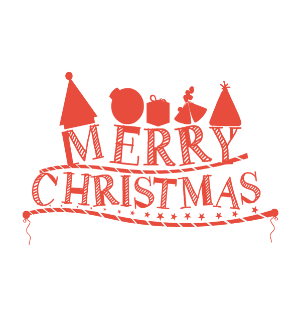 Merry Christmas Text PNG - 16087