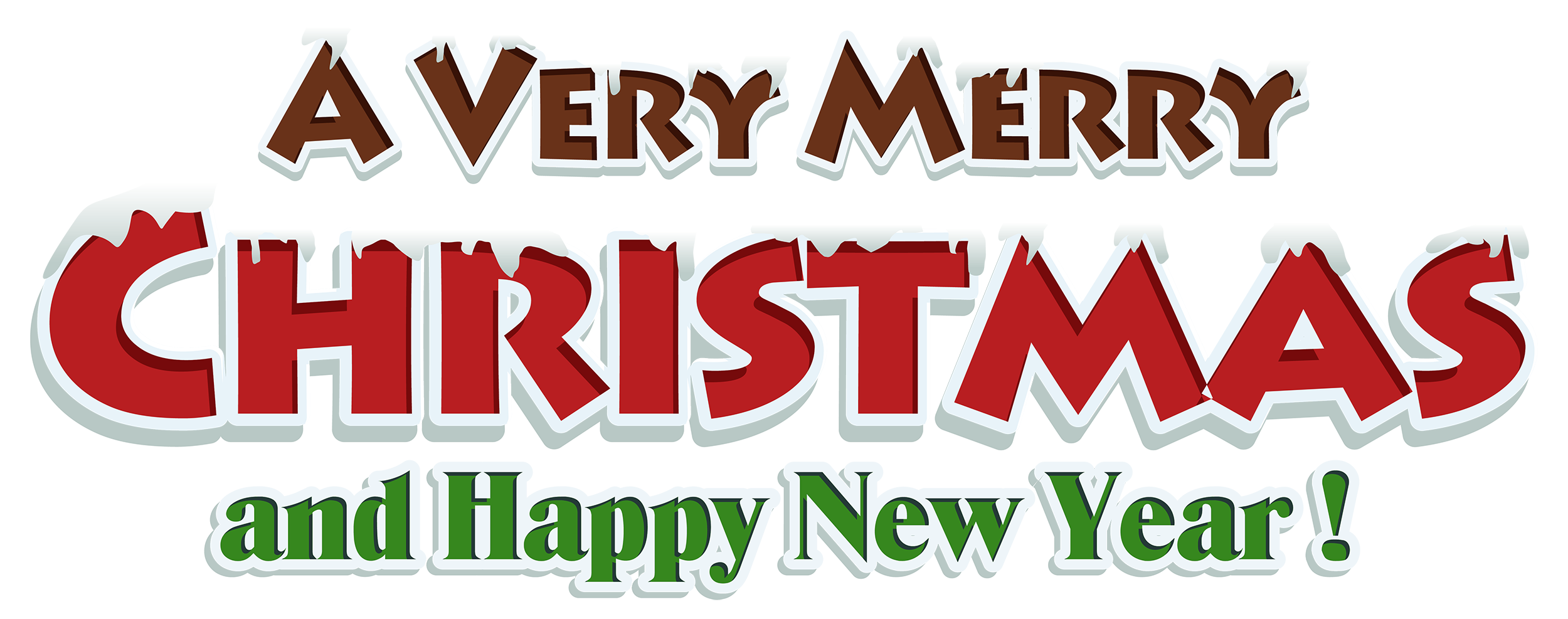 Merry Christmas Text PNG - 16073