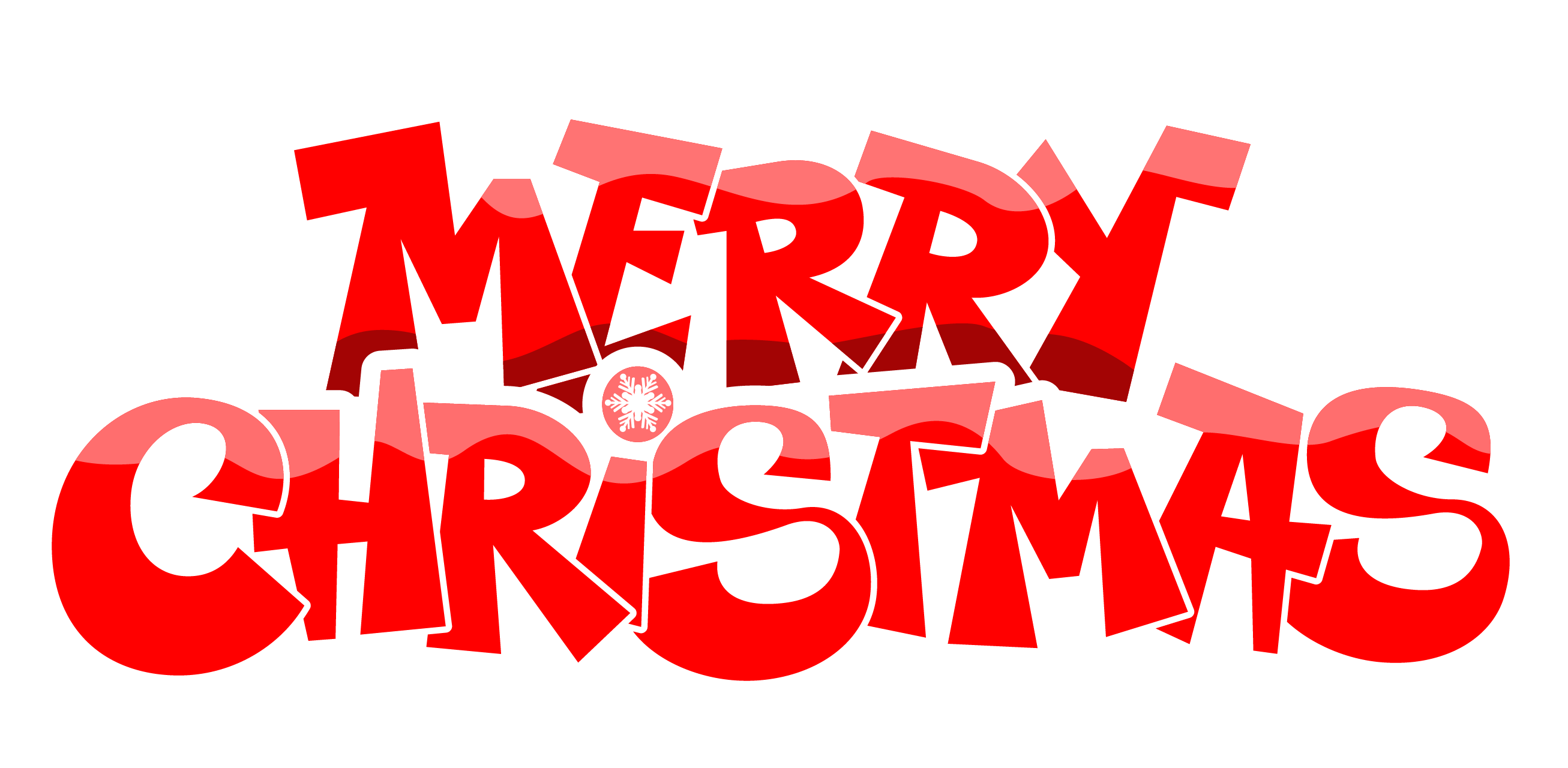 Merry Christmas Text PNG - 16072