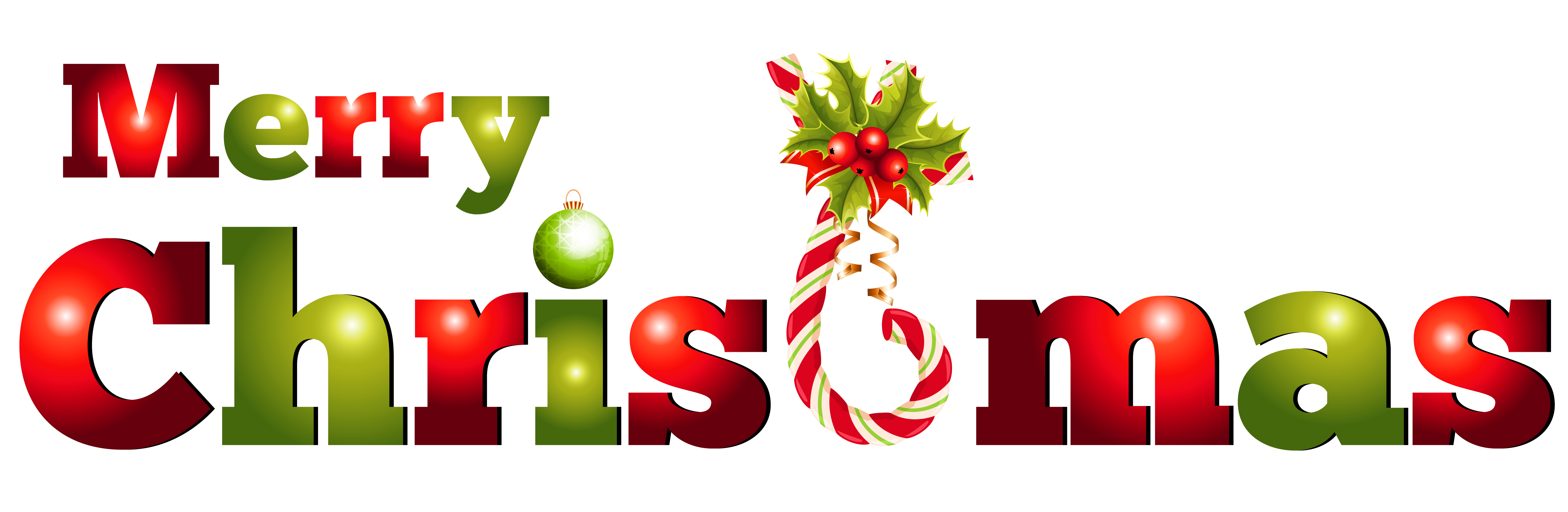 Merry Christmas Text PNG - 16074