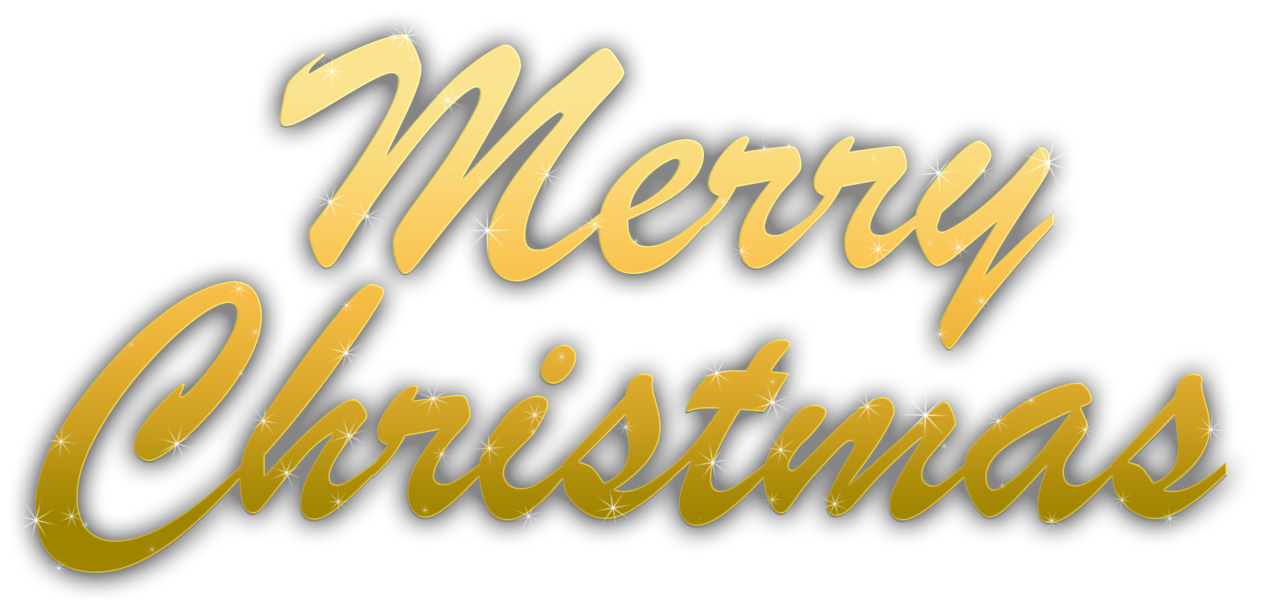 Merry Christmas Text PNG - 16090