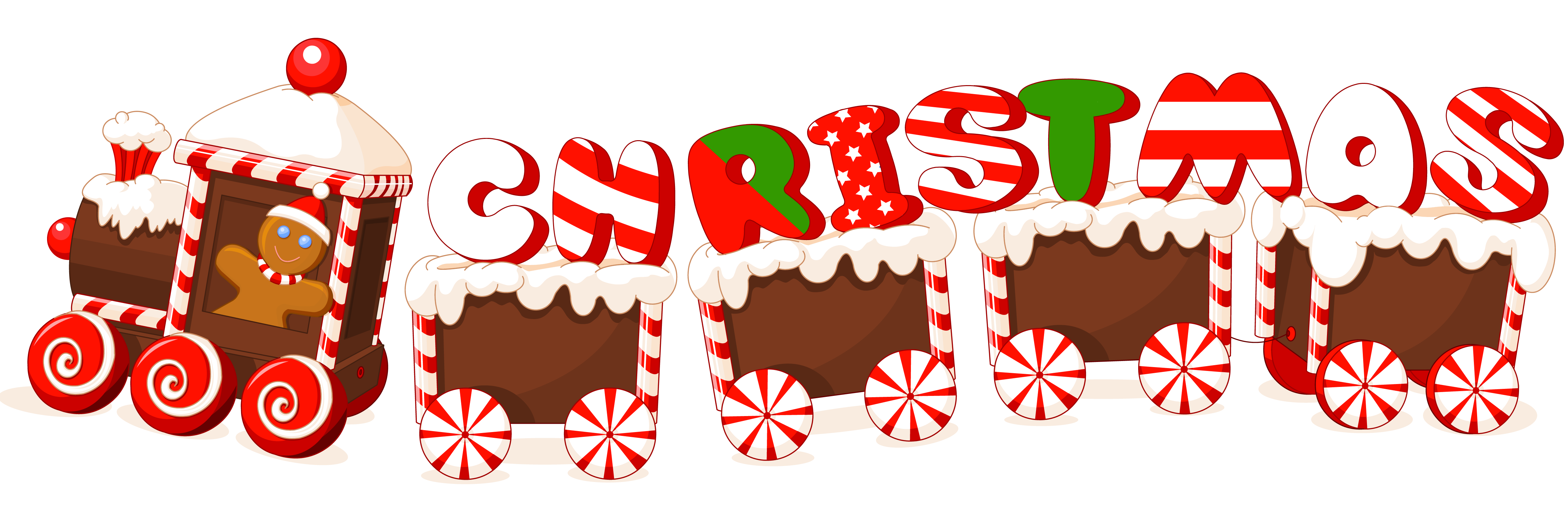 Merry Christmas Text PNG - 16088