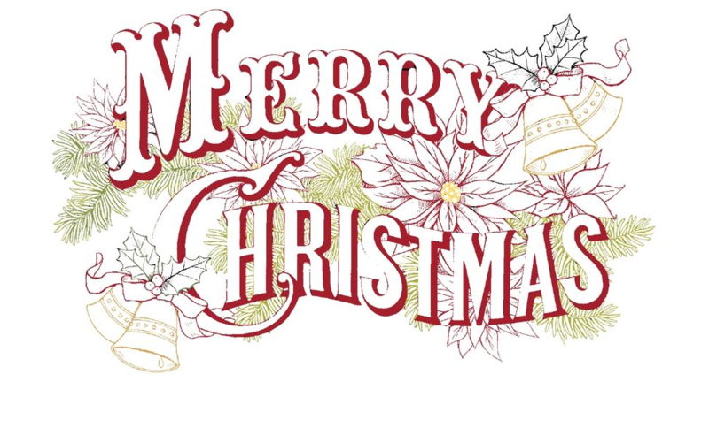 Merry Christmas Text PNG - 16077
