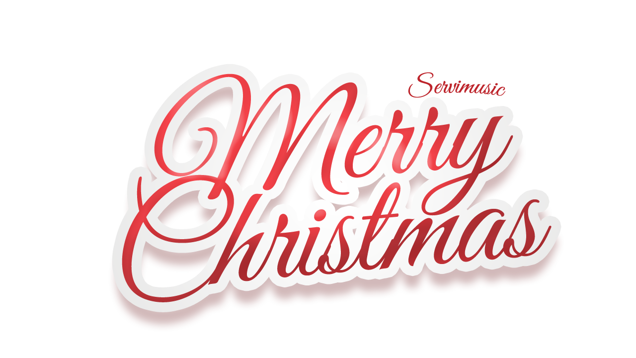 Merry Christmas Text PNG - 16079