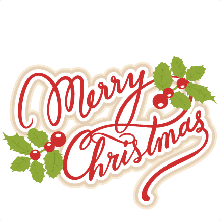 Merry Christmas Text PNG - 16084