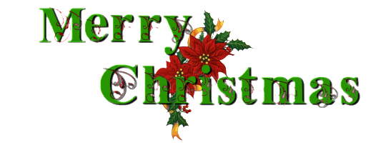 Merry Christmas Text PNG - 16091