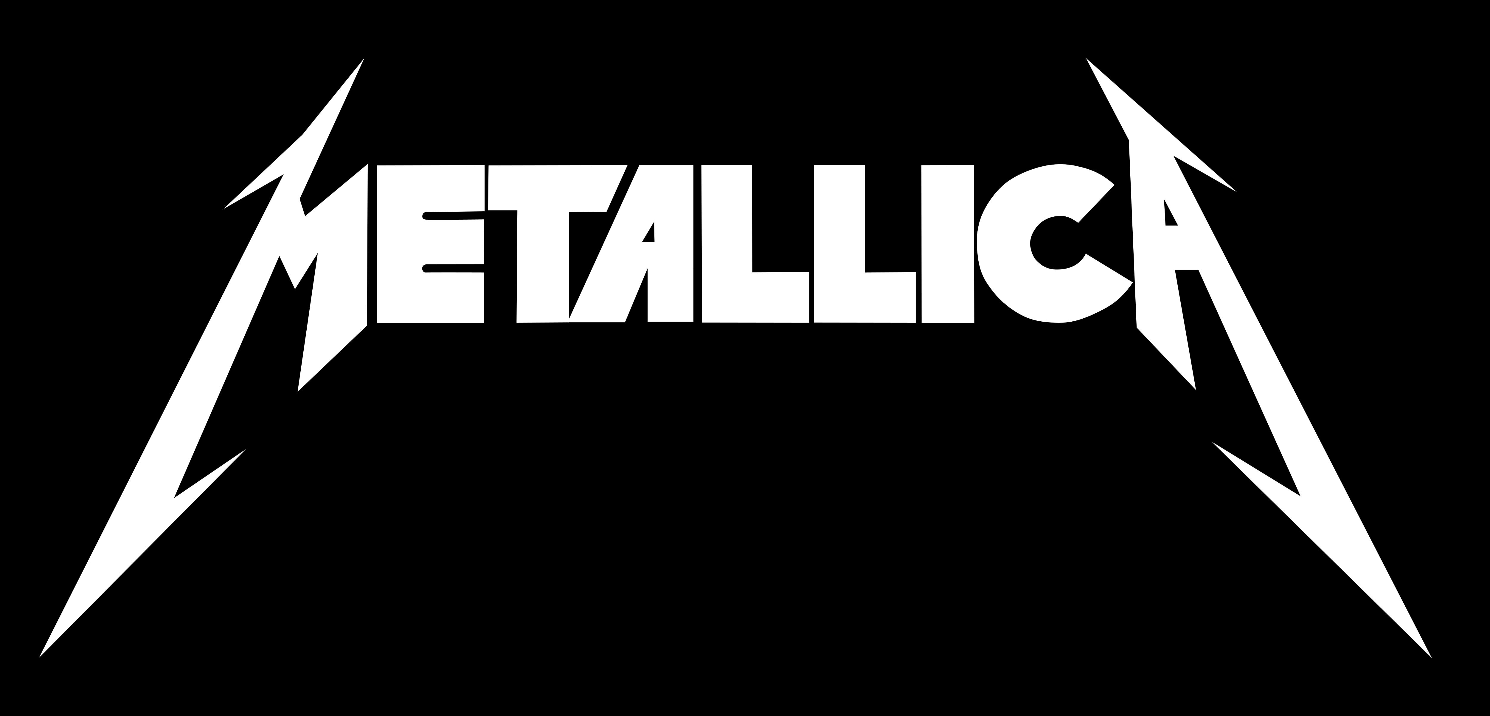 Metallica logo, black - Metallica PNG