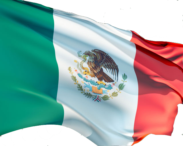 Mexican Flag PNG HD - 123839