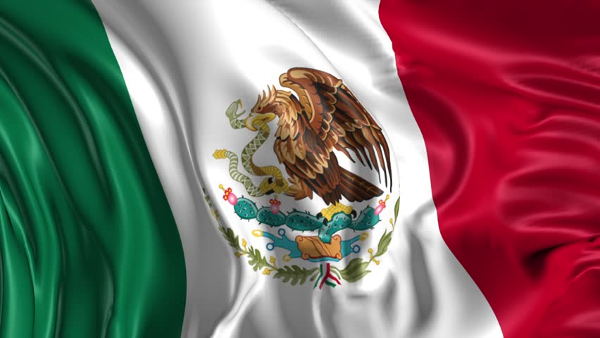 Mexican Flag PNG HD - 123844