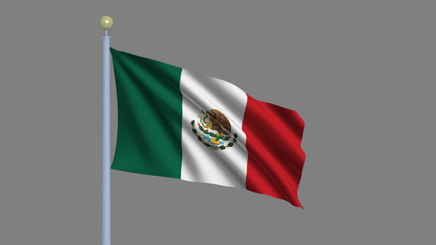 Mexican Flag PNG HD - 123848