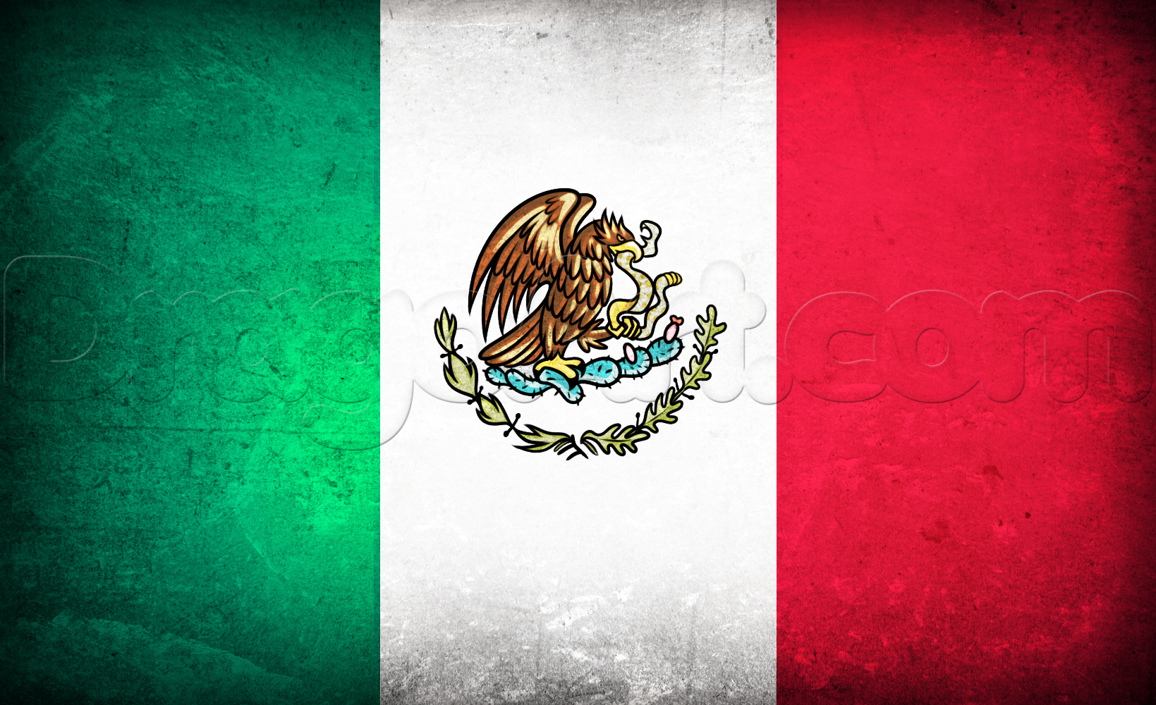 Mexican Flag PNG HD - 123840
