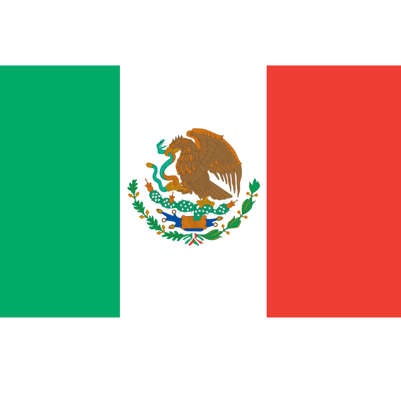 Mexican Flag PNG HD - 123850