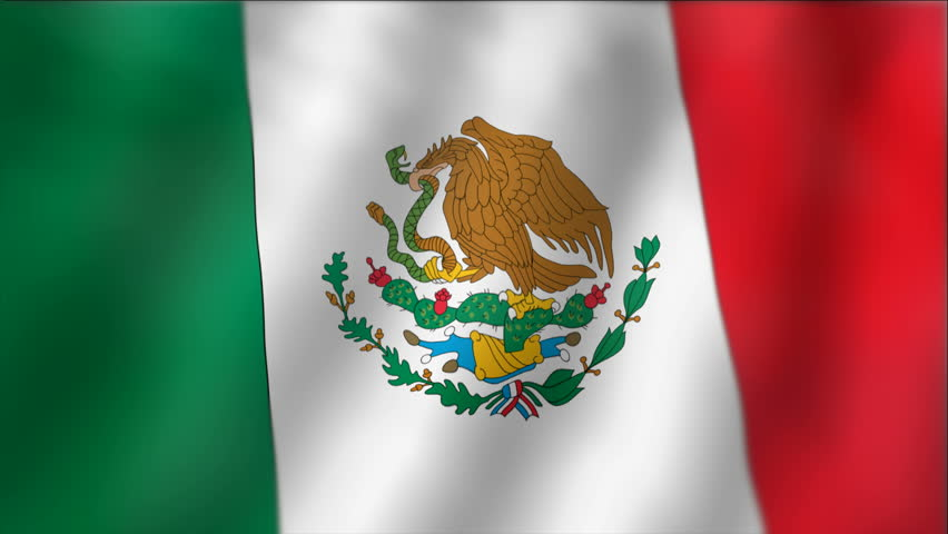 Mexican Flag PNG HD - 123852