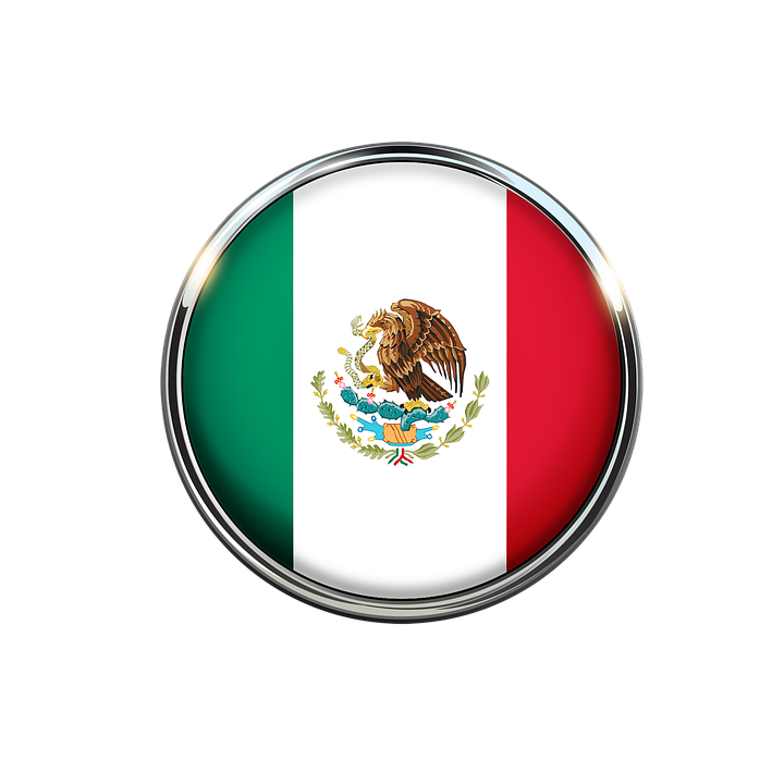 Mexican Flag PNG HD - 123851