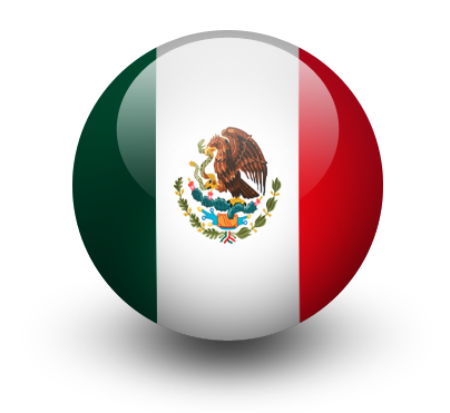 Mexican Flag PNG HD - 123843