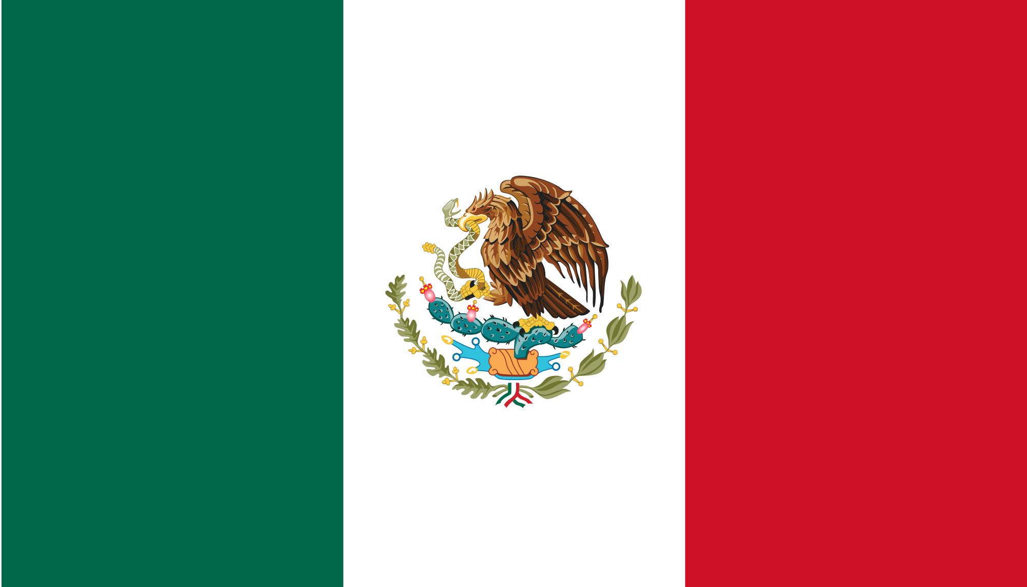 Mexican Flag PNG HD