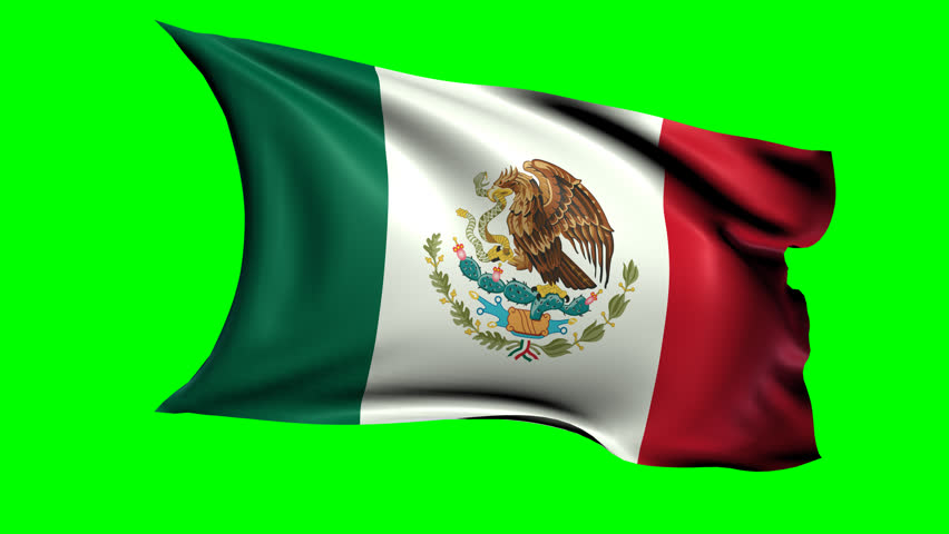 Mexican Flag PNG HD - 123847