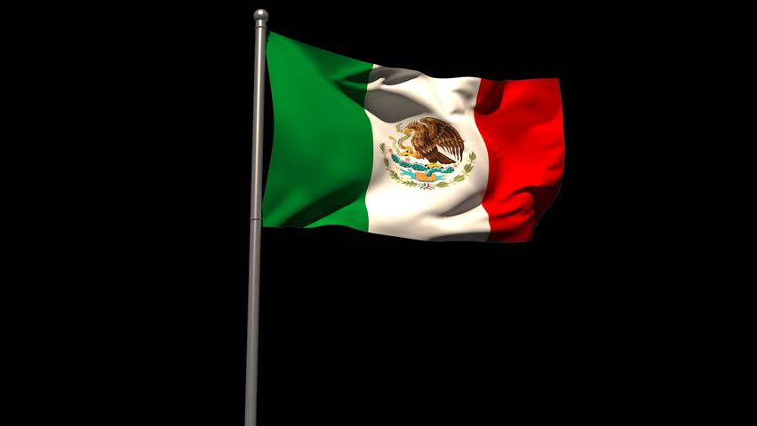 Mexican Flag PNG HD - 123845