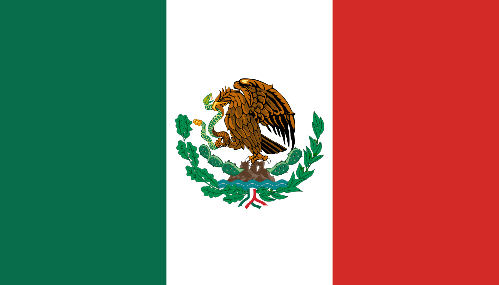 Mexican Flag PNG HD - 123841