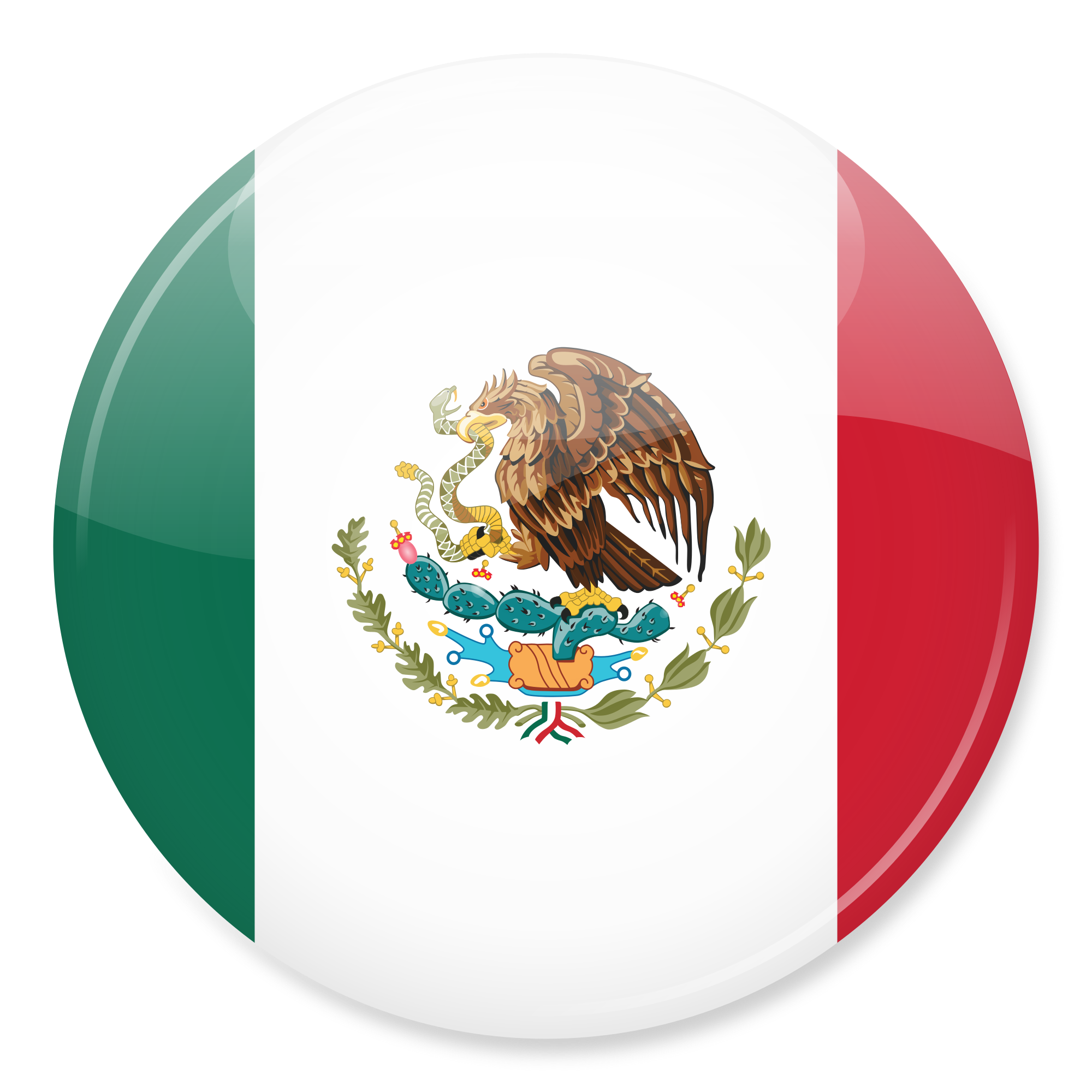 Mexican Flag PNG HD - 123849