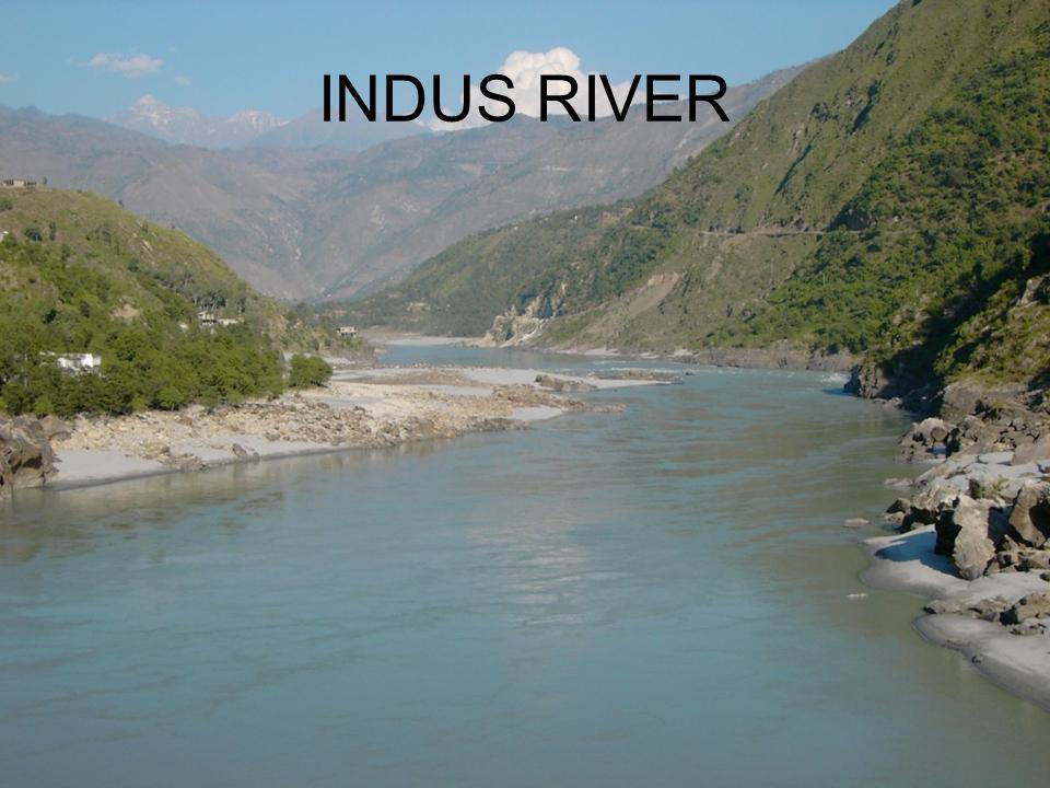 Indus river - Mga Anyong Lupa PNG