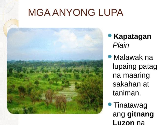 MGA ANYONG LUPA - Page 1 - Mga Anyong Lupa PNG