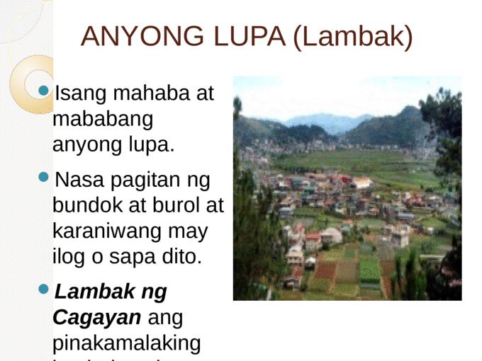 MGA ANYONG LUPA - Page 2 - Mga Anyong Lupa PNG