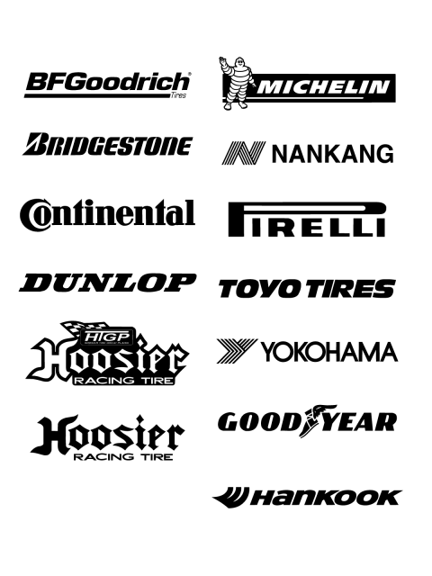 Free Logos Vector Brands BFGGoodrich, Michelin, Bridgestone, Hankang,  Continental, Pirelli, - Michelin Tires Logo Vector PNG