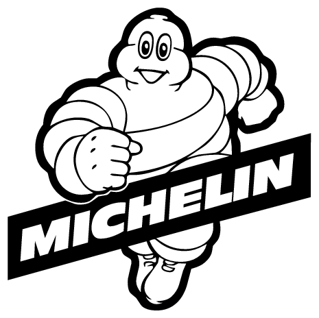 Michelin - Michelin Tires Logo Vector PNG