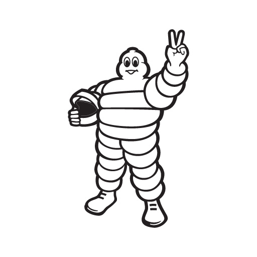 Michelin Tires Logo Vector PNG - 110773