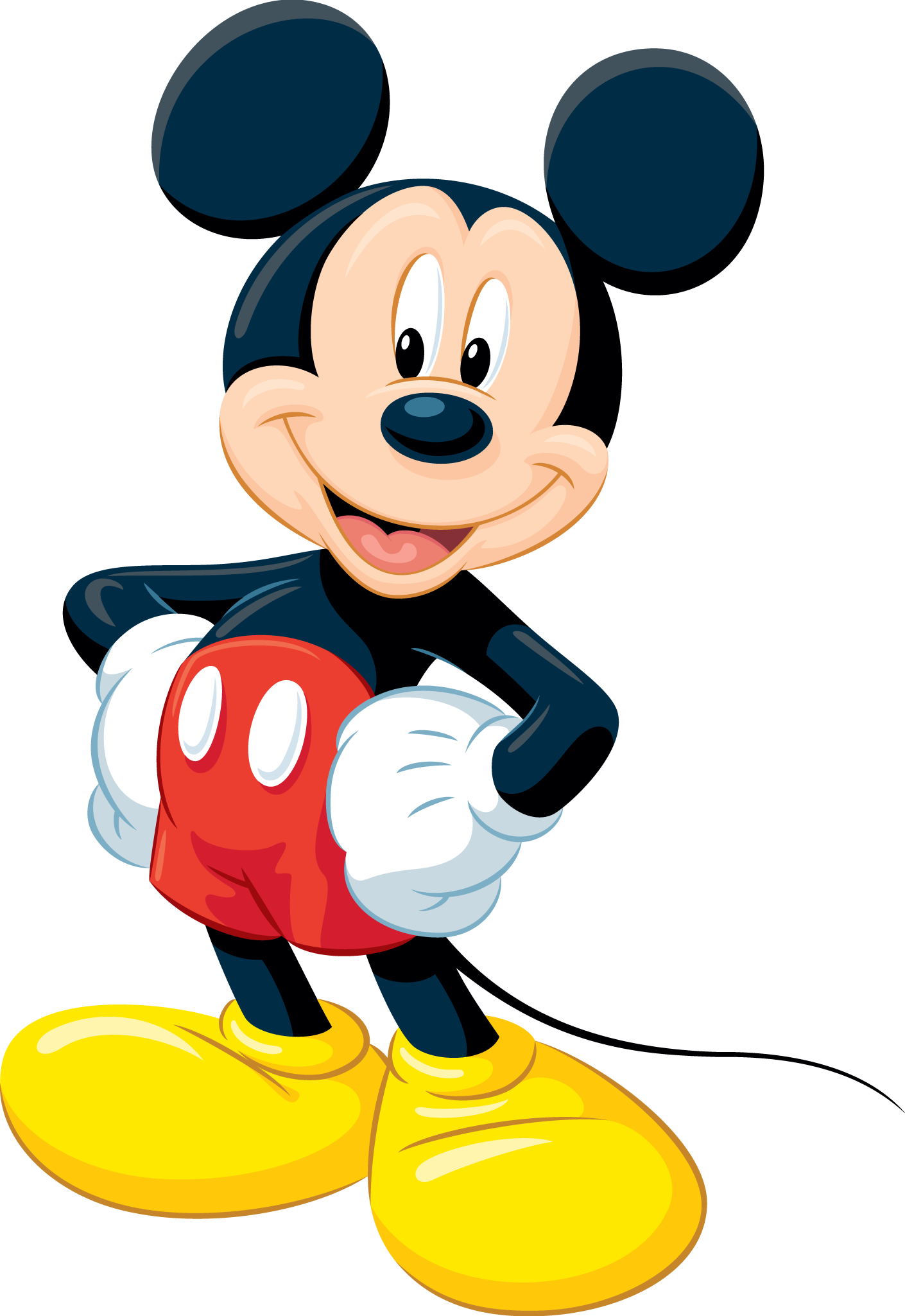 Mickey Head PNG HD - 130772