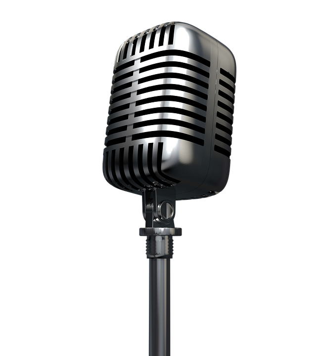 Microphone, Radio, Audio, Record, Podcast - Microphone HD PNG
